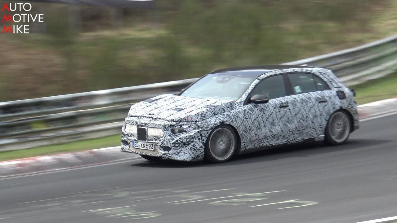 2019 MERCEDES GLA SPIED TESTING AT THE NURBURGRING