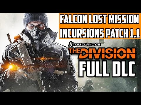The Division Falcon Lost Challenging & Hard Mode Gameplay Walkthrough Guide Incursion