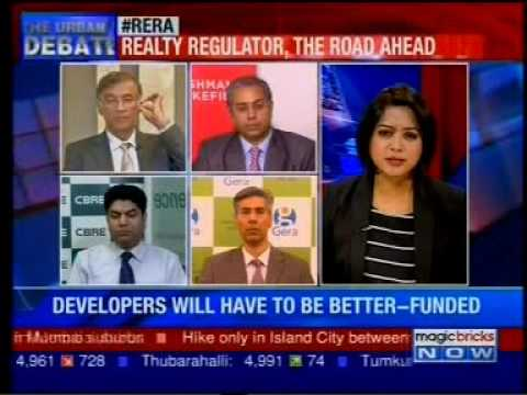 Magic Bricks report on the impact of RERA on property prices.