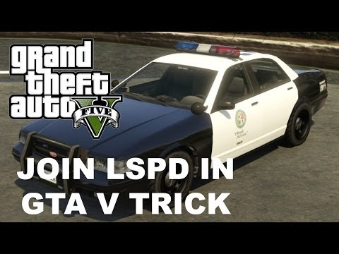 How To Be A Cop In GTA V