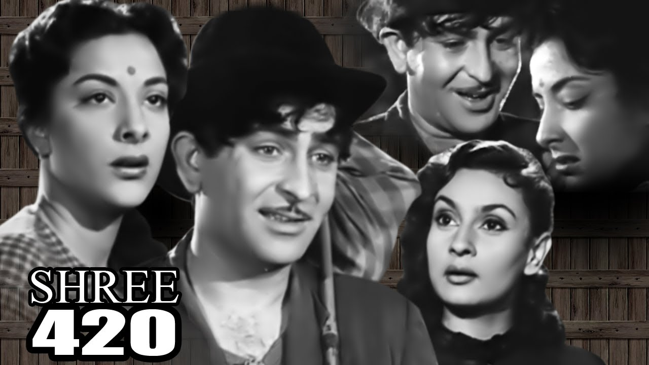 Shree 420 Full Movie | Raj Kapoor | Nargis | Superhit Old Classic Movie 1955