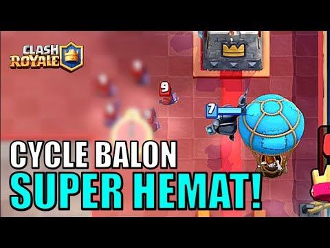 DECK FAVORIT DI META BARU! BALLOON CYCLE IS HERE! • Clash Royale Indonesia