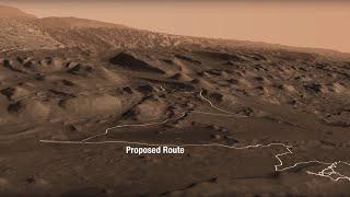 NASA's Curiosity Finds Climate Clues on a Martian Mountain thumbnail