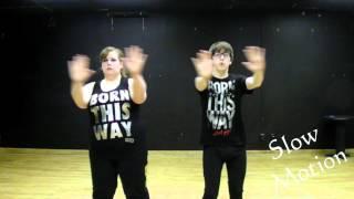 Tutorial - Lady Gaga - Bad Romance Choreography