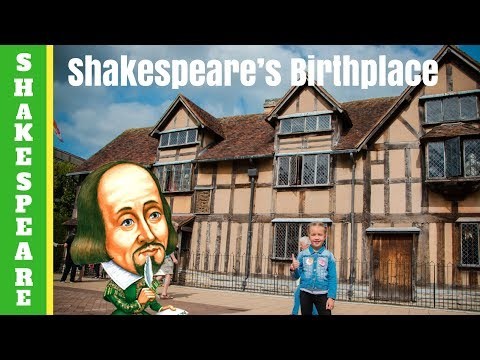 Shakespeare's Birthplace - house where Shakespeare was born in Stratford-upon-Avon