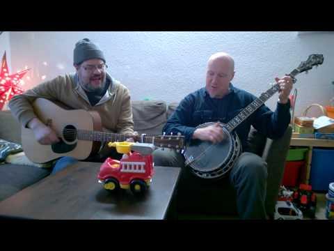 Feuerwehrmann Sam Song mit Gitarre & Banjo