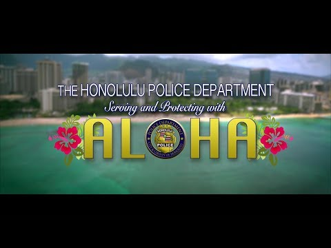 Official Video: Honolulu Police Department - Lip Sync Challenge... with ALOHA