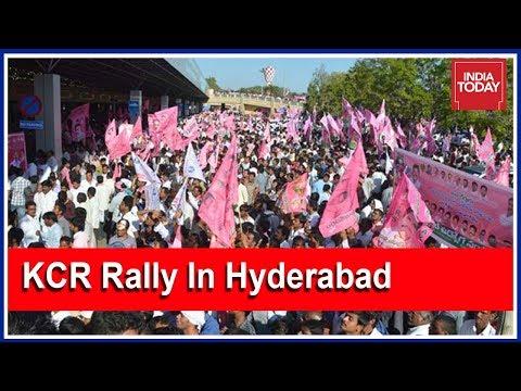 Telangana CM, KCR Announces Sops Ahead Of Mega Rally In Hyderabad