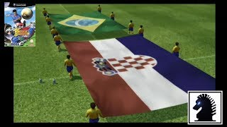 GC Virtua Striker 3 ver.2002 - Brazil vs Croatia