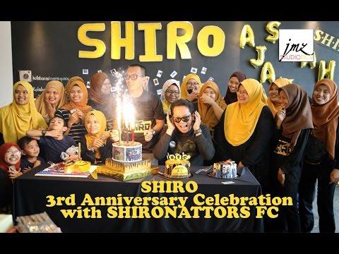 SHIRO 3rd Anniversary Celebration with...