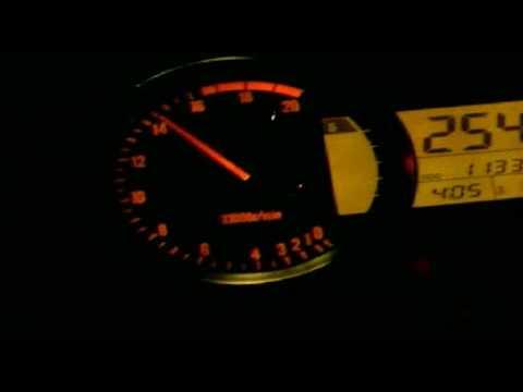 2007 kawasaki ninja zx6r top speed