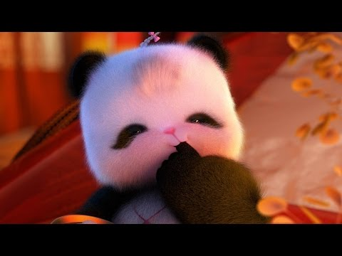 The most lovely baby panda--萌熊胖娃--chinese cartoon