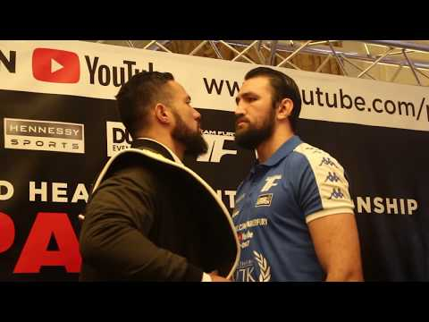 INTENSE! JOSEPH PARKER VS HUGHIE FURY OFFICIAL HEAD TO HEAD