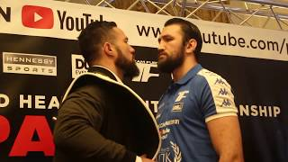 intense joseph parker vs hughie fury official head to head wbo world heavyweight title