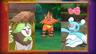 Svelate le evoluzioni dei tre Pokémon iniziali in Pokémon Sole e Pokémon Luna!