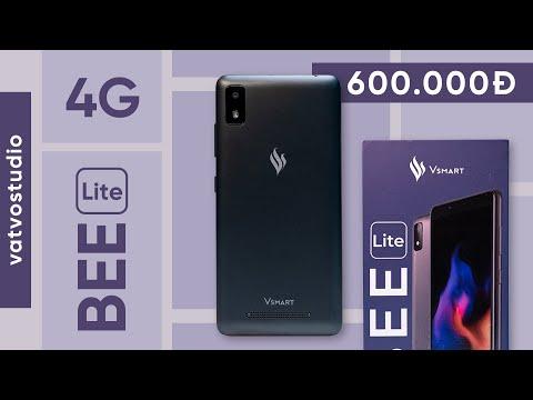 Mở hộp trên tay Vsmart Bee Lite giá chỉ 600.000đ: 16GB bộ nhớ có 4G