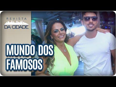 Viviane Araújo E Seu Novo Namorado + Cauã Reymond - Revista Da Cidade (26/03/18)