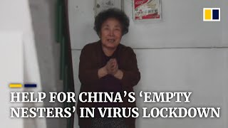 Volunteers help China's isolated 'empty nest' seniors stay amid coronavirus outbreak