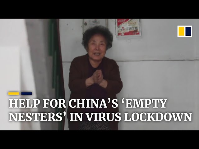 Volunteers help China's isolated 'empty nest' seniors stay amid coronavirus outbreak