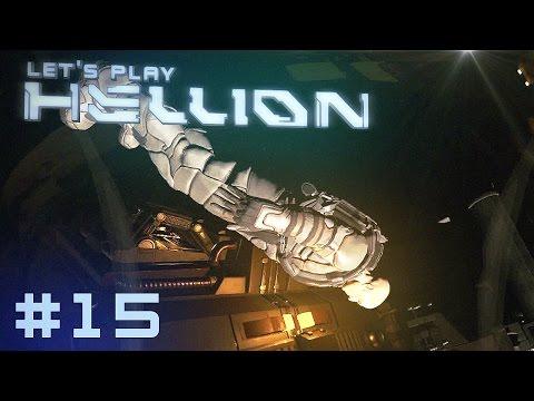 HELLION Deutsch #15 ENDSTATION RAUMSTATION [ German Gameplay Deutsch ]