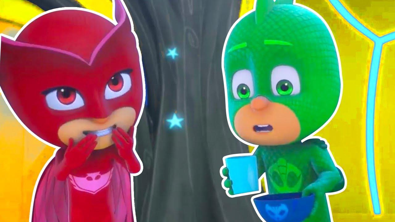 Heroes en Pijamas Español 2020 - al Cuidado de los Heroes Bebes - Dibujos Animados Pj Masks