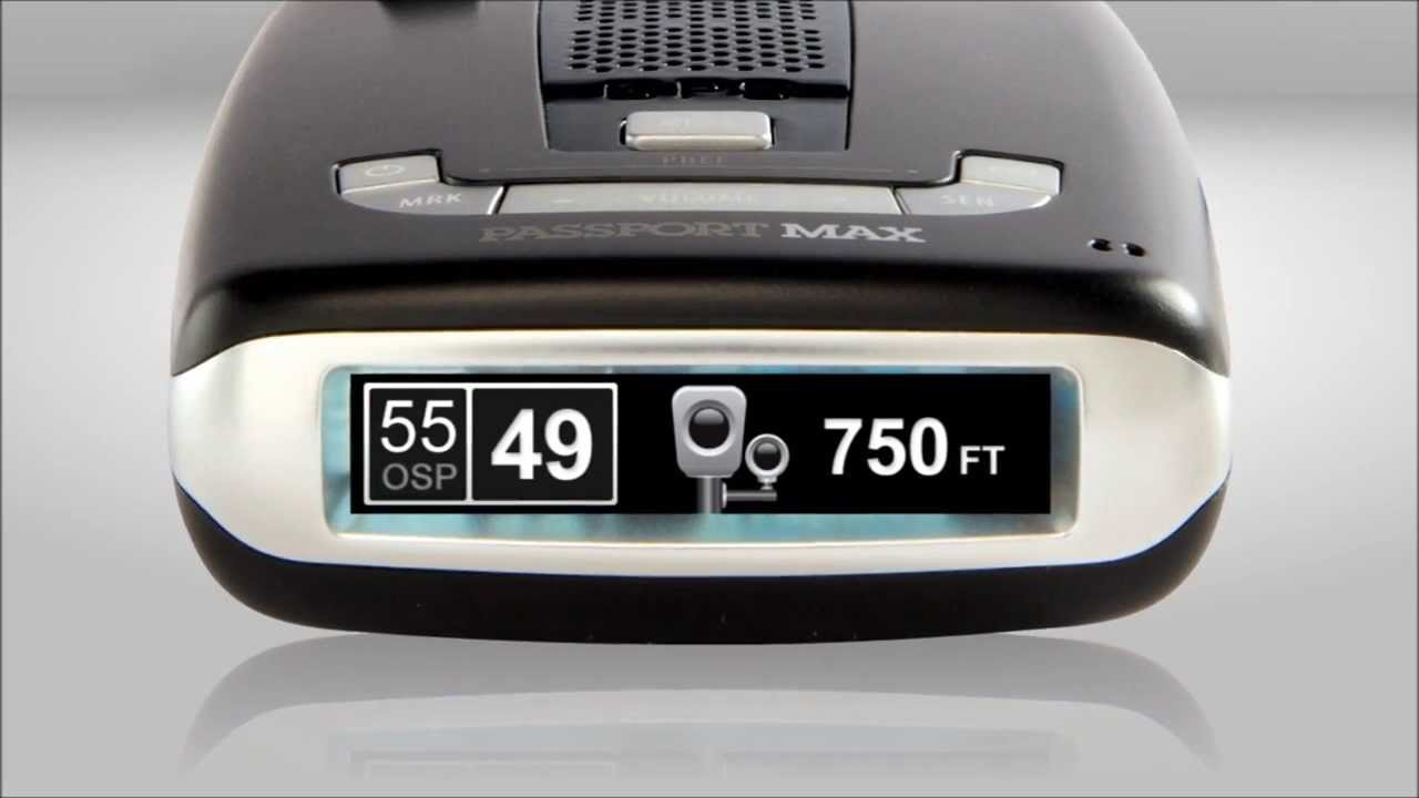 Escort Passport Max >> Escort Passport MAX Radar Detector overview part 1 - YouTube