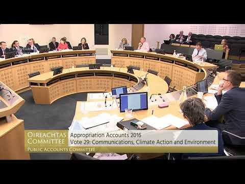 Cullinane Questions Department over RTE Funding - 9.11.17