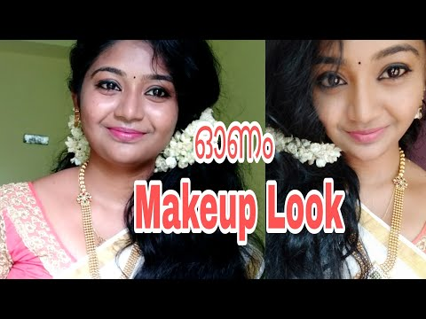 Onam Makeup Look 2018||For Long Lasting Simple Makeup Look||Malayali Makeup||SimplyMyStyle Unni|| Video