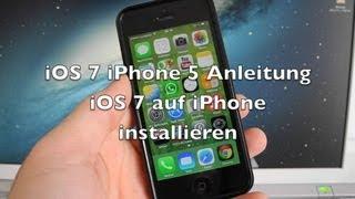 iOS 7 iPhone 5 Anleitung: iOS 7 auf iPhone installieren