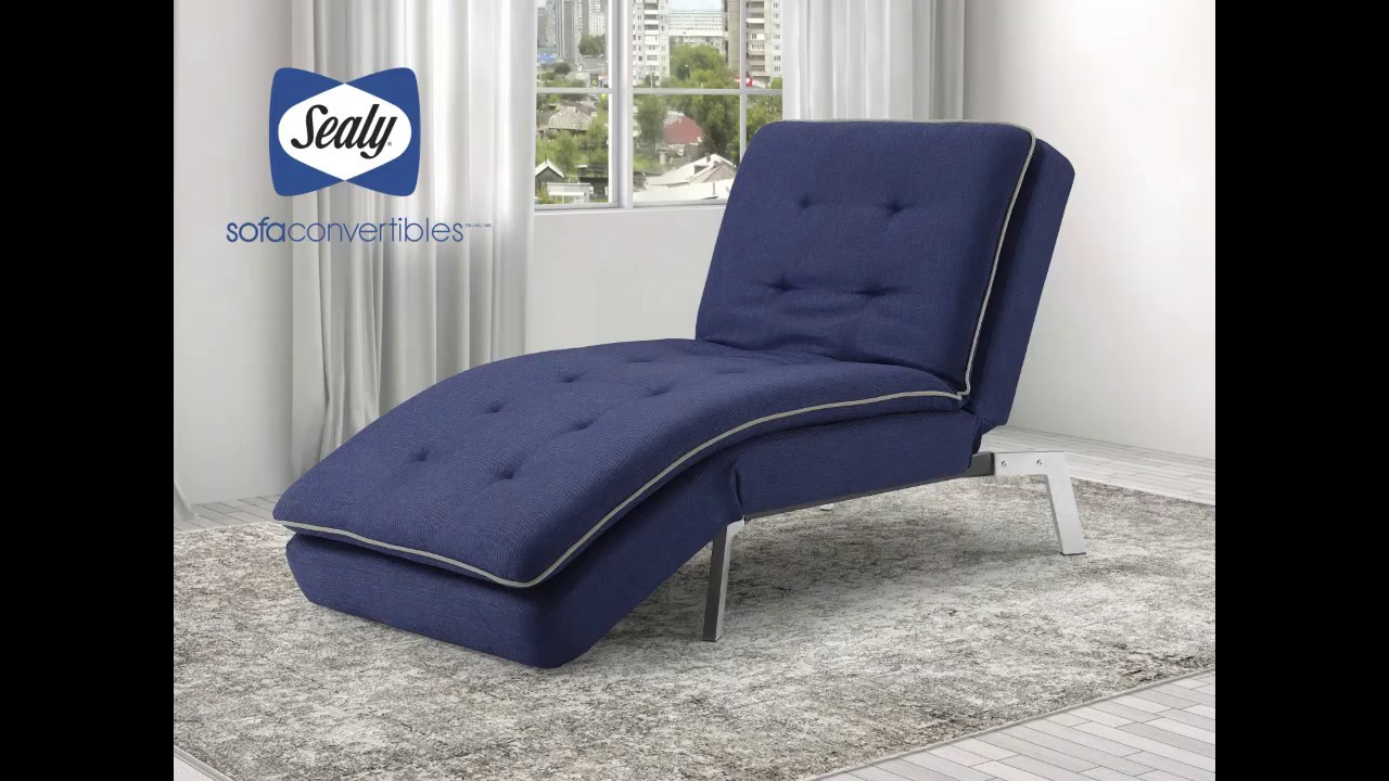 - Harriet Chaise By Sealy Sofa Convertibles - YouTube