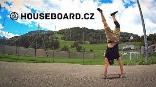 Základy jízdy na skateboardu / POPRVÉ NA SKEJTU - Honza Kaňůrek