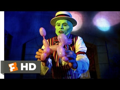 The Mask (2/5) Movie CLIP - Balloon Animals (1994) HD