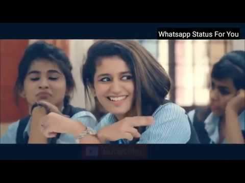 New Lovely Whatsapp Status Video 2018 - Priya Parkash Varrier - Oru Adaar Love