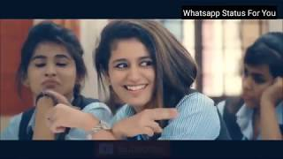 New Lovely Whatsapp Status Video 2018 - Priya Parkash Varrier - Oru Adaar Love