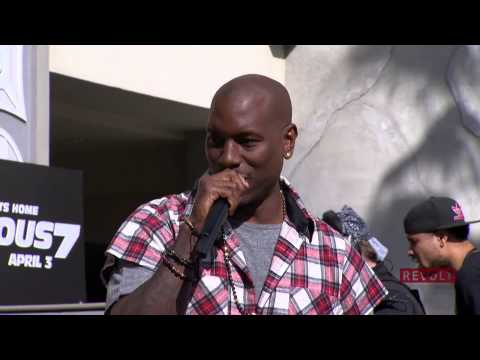 Tyrese Gibson at Furious 7 Revolt Live Takeover Concert - Furious 7 Premiere