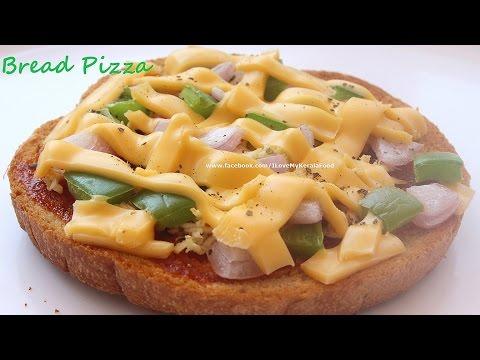Bread Pizza- Easy Recipe- Cheat