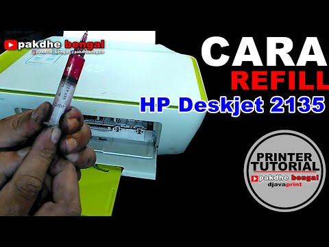 Cara isi tinta printer canon IP 2770/mp258/mp287.
