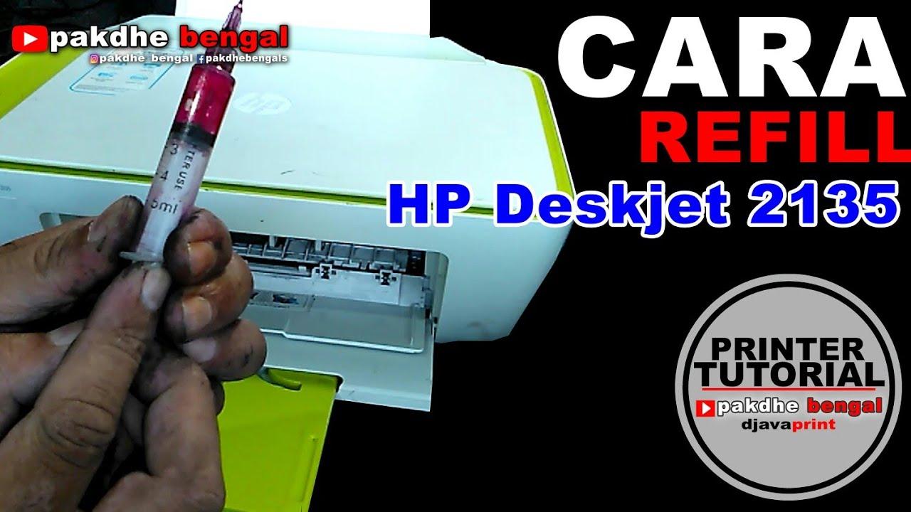 Cara Refill Catridge Hp Deskjet Ink Advantage 2135 Tinta Isi Ulang Epson 664 680