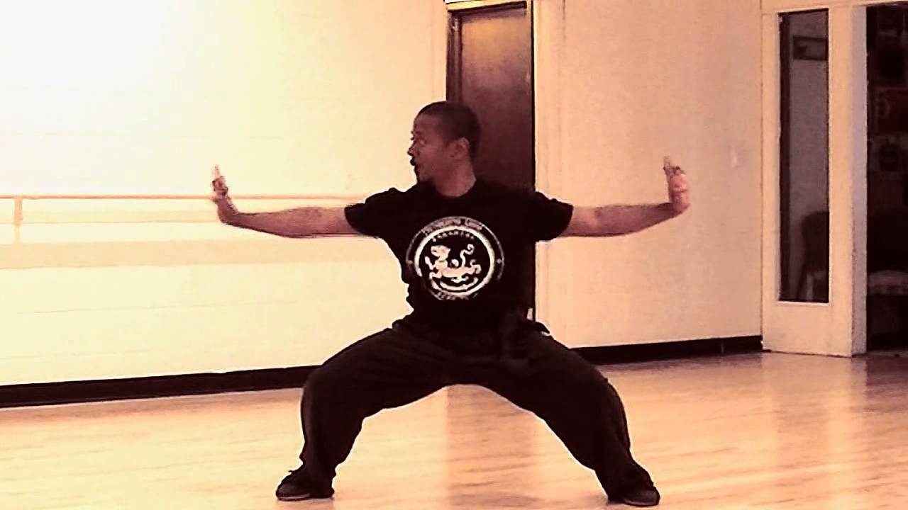 Tiger Style Traditional Kung Fu Form - YouTube