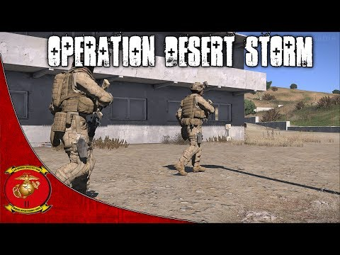Arma 3 - Co Op Gameplay - Operation Desert Storm - 2nd Marine Expeditionary Force