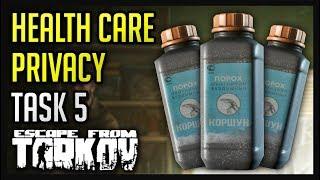 Health Care Privacy Task (5) Guide - Escape from Tarkov