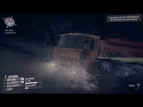 Mud Runner a Spintires game Delivery Mission