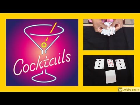 MAGIC TRICKS VIDEOS IN TAMIL #495 I Cocktail Monte from Hiro Sakai @Magic Vijay