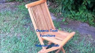Oceanic Teak Furniture Neptune Chair