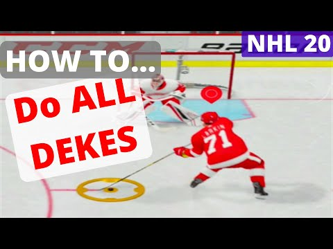 NHL 19: HOW TO DO ALL DEKES