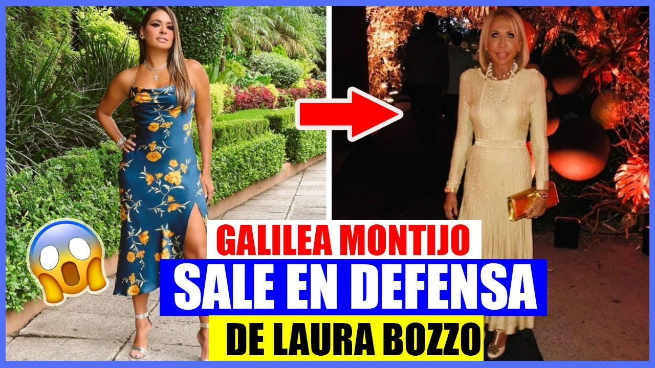 GALILEA MONTIJO SALE EN DEFENSA DE LAURA BOZZO TRAS ASEGURAR QUE LO PERDIÓ TODO😱😱