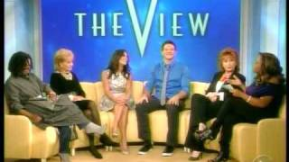 Cory Monteith & Lea Michelle on The View