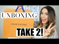 LOUIS VUITTON UNBOXING TAKE 2! | Modeling Shots & Bag Details | Shea Whitney
