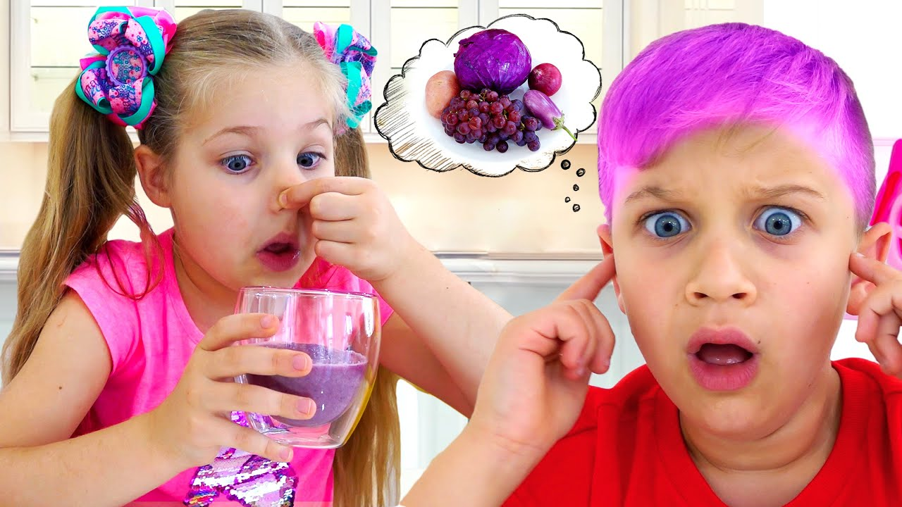 Download Diana and Roma Learn Colors with Yummy Fruits and Vegetables