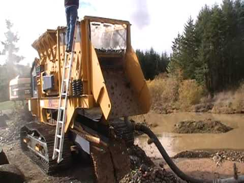 New Gold Recovery Wash Plant The Gold Rush Is On Youtube